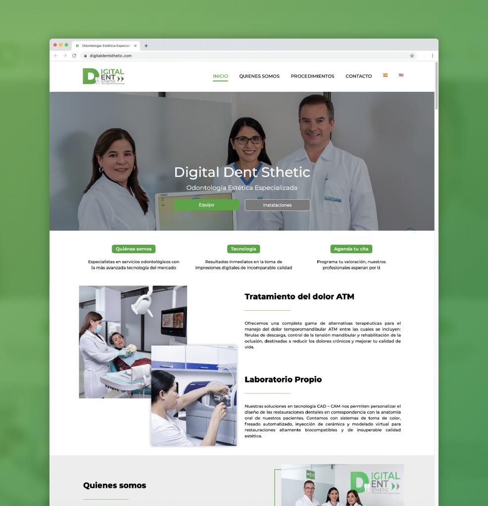 Motion Factory Studios - Website Digital Dent