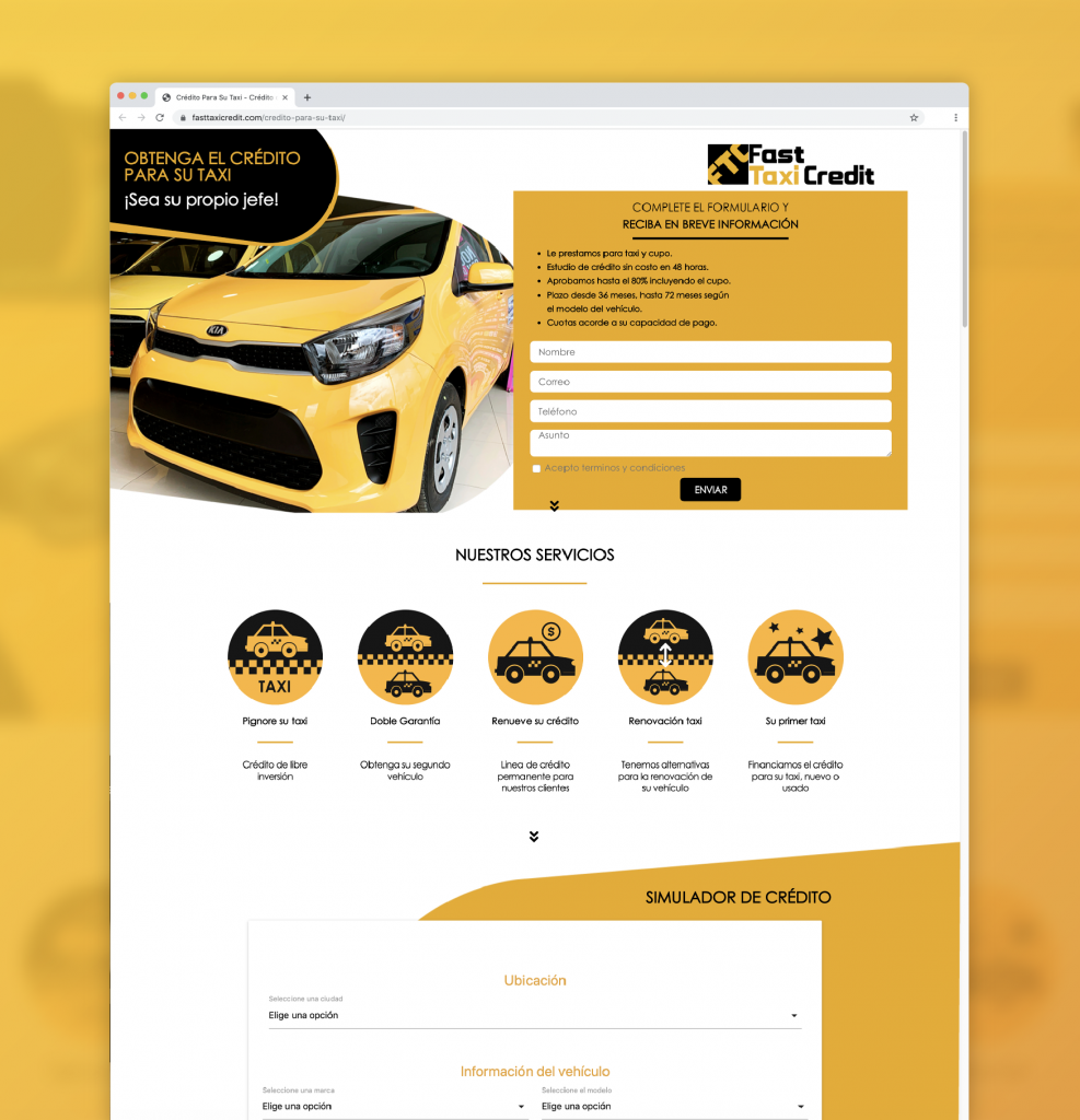 Motion Factory Studios - Website Fast Taxi Credit